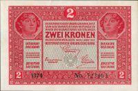 2K/1917/, stav UNC, série 1374