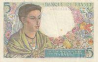 5 Franc, Francie, 1943