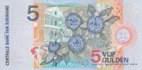 5 Gulden, Surinam, 2000