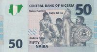 50 Naira, Nigérie, 2006