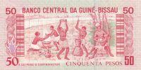 50 Pesos, Guinea-Bissau, 1990