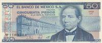 50 Pesos, Mexiko, 1981