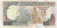 50 Schilin, Somálsko, 1991