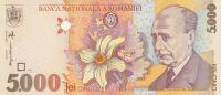 5000 Lei Rumunsko, 1998