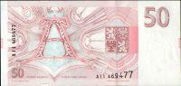 50Kč/1993/, stav UNC, série A - tisk Londýn