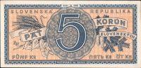 5Ks/1945, stav UNC, série A 048