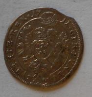 Čechy – Kutná Hora 3 Krejcar 1711 Josef I.