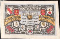 Osterwicker - nouzovka 500 Marek 1922, kůže