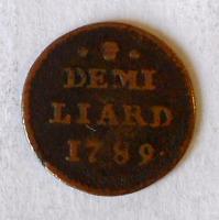 Rakousko 1/2 Liard 1789 Josef II.