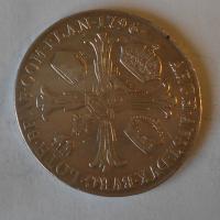 Rakousko Tolar Křížový 1796 M František I. m.o.
