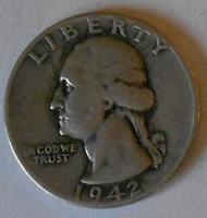 USA 1/4 Dolar 1842