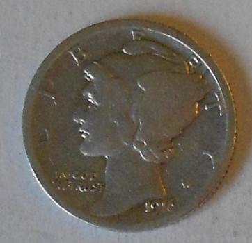 USA 10 Cent 1916