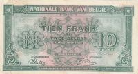 10 Franc, Belgie, 1943