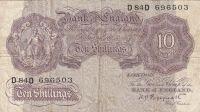 10 Shiling, Skotsko, 1940-48