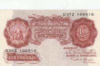 10 Shiling, Skotsko, 1949-53
