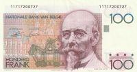 100 Franc, Belgie, BEYAERT