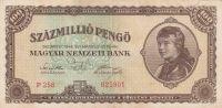 100 milion, Maďarsko 1946