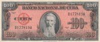 100 Pesos, Kuba 1959