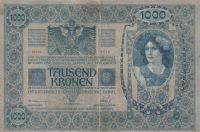 1000 Korun, ČSR 1902 čs. kolek -s-1115