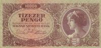 10000 Pengo, Madarsko, 1945