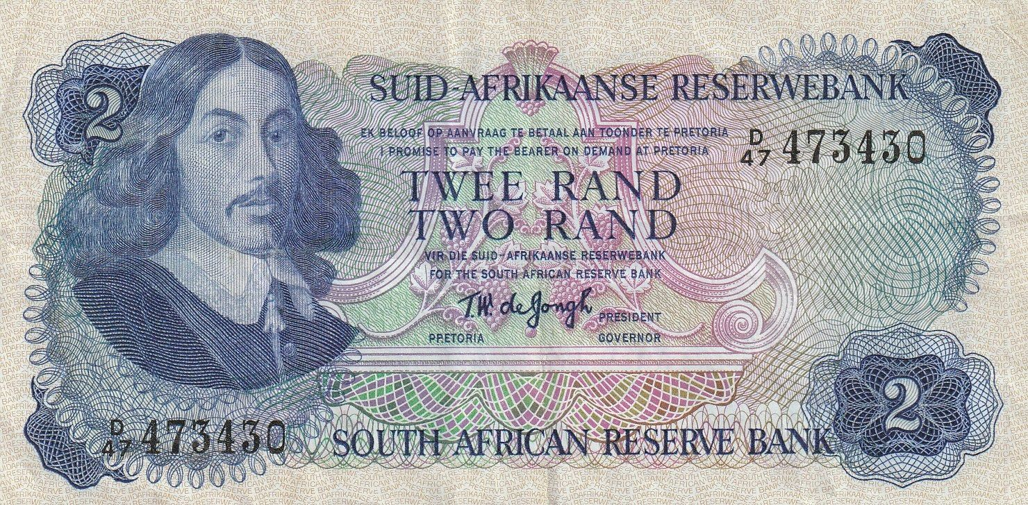 2 Rand, J. Afrika, přehrada