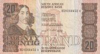 20 Rand, J. Afrika, plachetnice