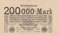 200000 Marek, Německo, 1923