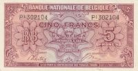 5 Franc, Belgie, 1943