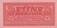 5 Pfennig Wehrmacht, Německo