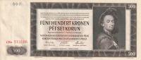 500 Korun, Protektorát Č+M, 1942, Cha-513186 II.vydání