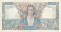 5000 Franc, Francie, 1945