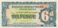 6 Pence, Britská armáda, 1948