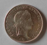 Čechy 20 Krejcar 1843 C Ferdinand V. Stav