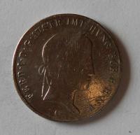 Čechy 20 Krejcar 1845 C Ferdninad V. Měl ouško