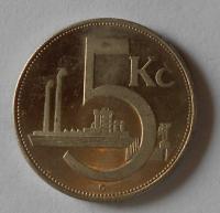 ČSR 5 Kč 1937 novoražba