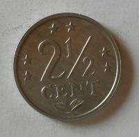 Holandské Antily 2 1/2 Cent 1974