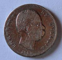 Itálie 1 Lira 1887 Umberto I.
