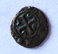 Itálie Messalina Billon Denár 1250-54 Corrado I.