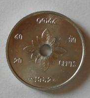 Laos 20 Cent 1952