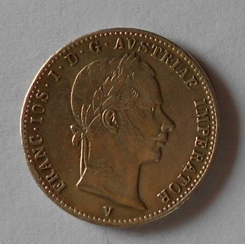 Rakousko 1/4 Floren 1859 V