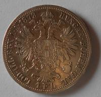 Rakousko 1 Floren 1872