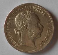Rakousko 1 Floren 1890