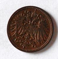 Rakousko 1 Haléř 1902 stav