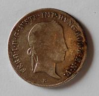 Rakousko 20 Krejcar 1838 E Ferdinand V.