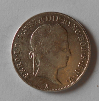 Rakousko 20 Krejcar 1843 A Ferdinand V.