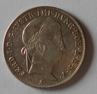 Rakousko 20 Krejcar 1845 A Ferdinand V.