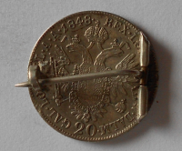 Rakousko 20 Krejcar 1848 A Ferdinand V. Jako šperk