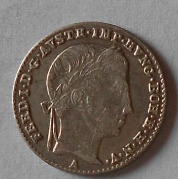 Rakousko 3 Krejcar 1837 A Ferdinand V. Stav