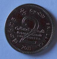 Srí-Lanka 2 Rupie 2011