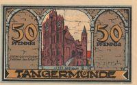 Tangermünde 50pf.nouzovka, Německo
